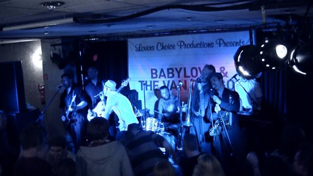 Babylove & The Van Dangos live