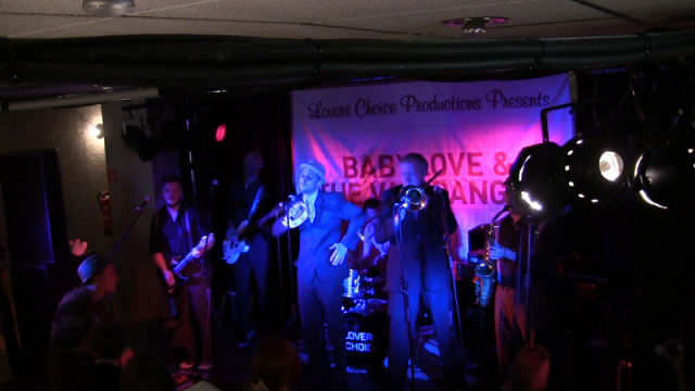 Danish Skaband Babylove & The Van Dangos live