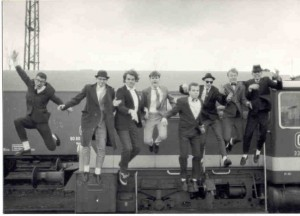 Ska band The Braces around 1987
