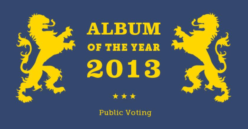 Album Of The Year 2013 public voting