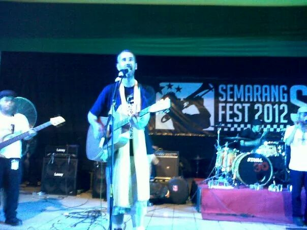 Chris Murray (USA) at Semarang Ska Festival 2013