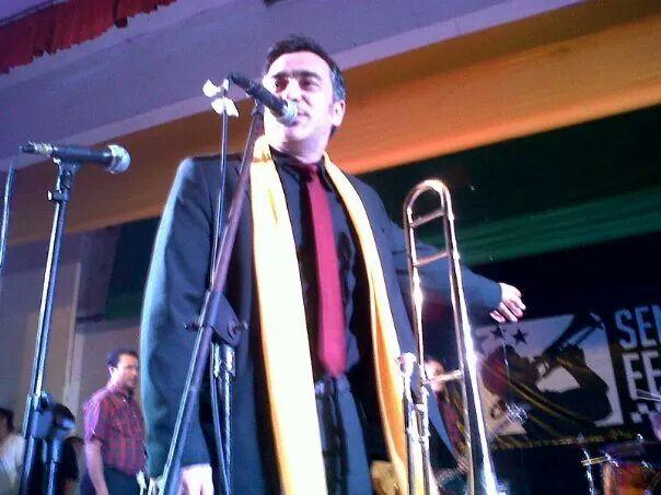 Mr. T-Bone (Italy) at Semarang Ska Festival 2013