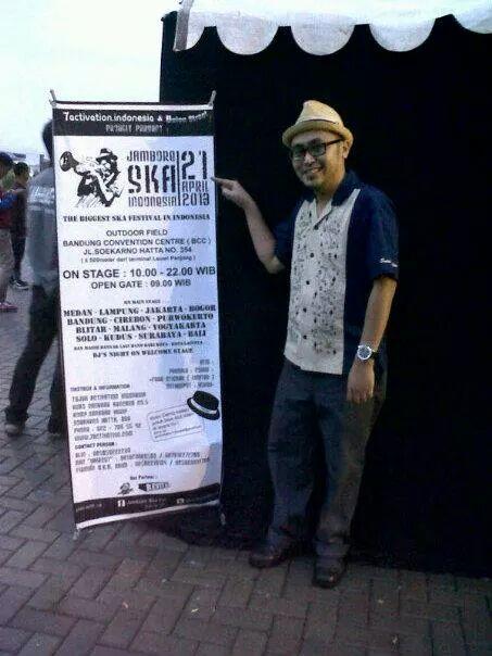 Mochammad at Jambore Ska Festival