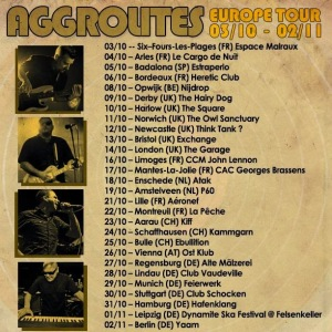 The Aggrolites european tour 2014